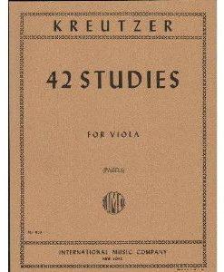 Kreutzer, Rodolphe - 42 Studies for Violin